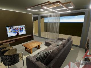 Aida tropeano& Asociados Modern Oturma Odası Ahşap Kahverengi