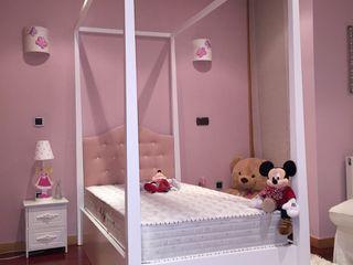 Decordesign Interiores Дитяча кімнатаЛіжка та дитячі ліжечка Масив Білий