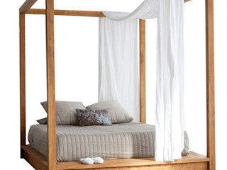 Decordesign Interiores СпальняЛіжка та спинки Масив Коричневий