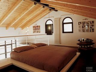 DELFINETTIDESIGN Dormitorios minimalistas Madera Blanco