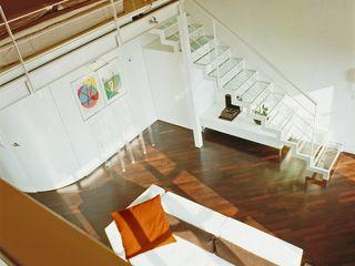 DELFINETTIDESIGN Livings modernos: Ideas, imágenes y decoración Madera Blanco