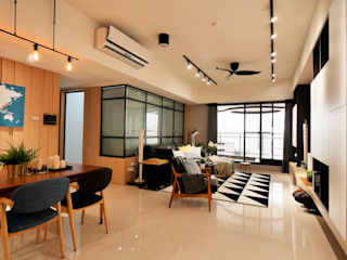 台中陳公館 築本國際設計有限公司 客廳