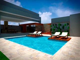 Fávero Arquitetura + Interiores Garden Pool