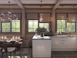 needsomespace Eclectic style kitchen MDF White