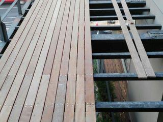 Terrazas en Residencial Solare periferico Onice Pisos y Decoracion Balcones y terrazas modernos Compuestos de madera y plástico