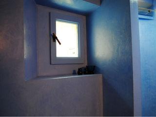 Rivestimento bagno in resina Due Punto Zero Bagno in stile scandinavo Blu