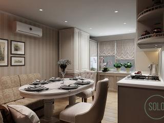 Solo Design Studio Kitchen Beige