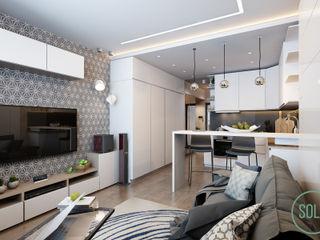 Solo Design Studio Kitchen White