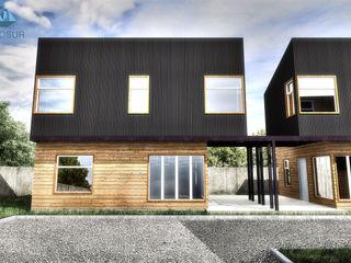 NidoSur Arquitectos - Valdivia Condominios Madera Negro