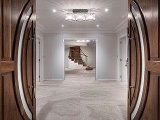 Mosman Park Moda Interiors Pasillos, vestíbulos y escaleras de estilo clásico Azulejos Beige