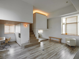 Tiny house in the tiny space Co*Good Design Co. Ltd. 现代客厅設計點子、靈感 & 圖片
