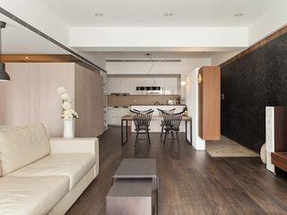 Albert & BoBo Co*Good Design Co. Ltd. 现代客厅設計點子、靈感 & 圖片