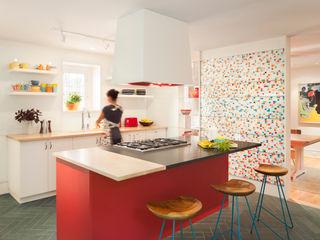 Metcalfe Architecture & Design Cocinas eclécticas