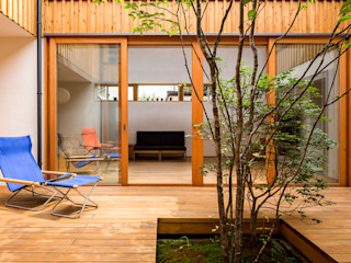 中山大輔建築設計事務所/Nakayama Architects Eclectic style conservatory
