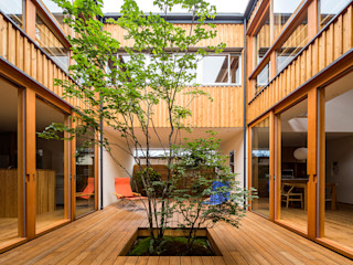 中山大輔建築設計事務所/Nakayama Architects Eclectic style garden