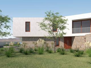 Uno Arquitectura Casas unifamilares Hormigón Blanco