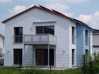 Energieautarkes 2-Familienhaus - heute schon an morgen gedacht wir leben haus - Bauunternehmen in Bayern Passivhaus