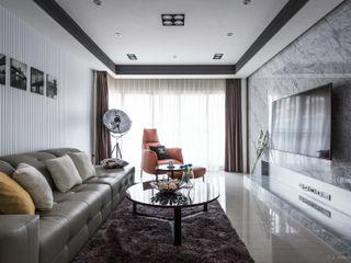 湘頡設計 Modern Living Room