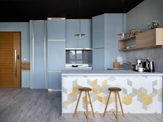 Eightytwo Built-in kitchens Blue