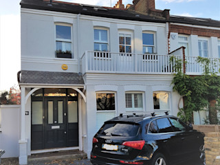 Edwardian meets contemporary; Teddington Family Home PAD ARCHITECTS Single family home
