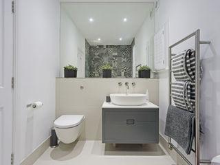 Edwardian meets contemporary; Teddington Family Home PAD ARCHITECTS Baños de estilo moderno