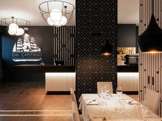 Dal Capitano Fish Lab Restaurant tIPS ARCHITECTS Negozi & Locali Commerciali