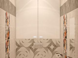 Студия интерьерного дизайна happy.design Industrial style bathroom