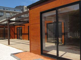 Discovercasa | Casas de Madeira & Modulares 일세대용 주택 우드 갈색