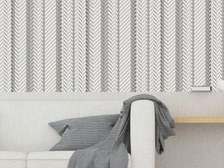 Housed - Wallpapers Muren & vloerenBehang Natuurlijk Grijs