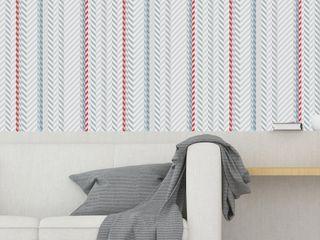 Housed - Wallpapers Muren & vloerenBehang Natuurlijk Blauw