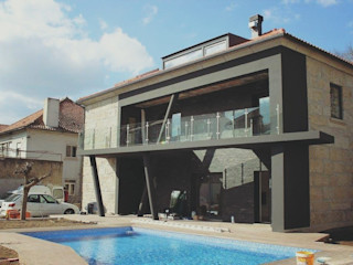 Vasco & Poças - Arquitetura e Engenharia, lda Minimalist house
