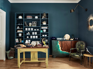 PatyNowy Eclectic style study/office
