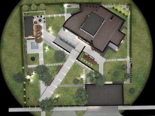 Частный проект загородного дома Y.F.architects Загородные дома
