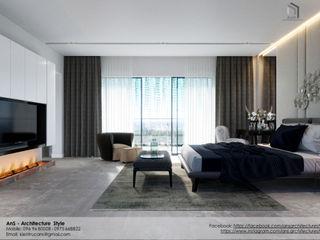 AnS - Architecture Style モダンスタイルの寝室