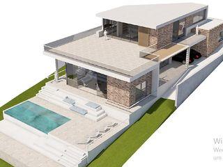 FHS Casas Prefabricadas Villas Reinforced concrete Multicolored