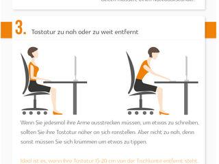 Ergonomie am Arbeitsplatz Büromöbel-Experte ArbeitszimmerSchreibtische