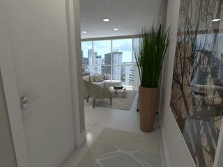 Skala Arquitetura e Engenharia Couloir, entrée, escaliers modernes