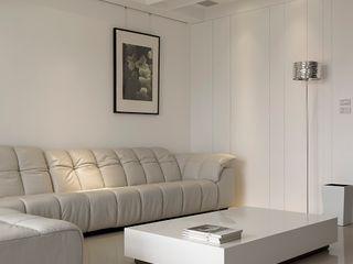 禾光室內裝修設計 ─ Her Guang Design Living room White