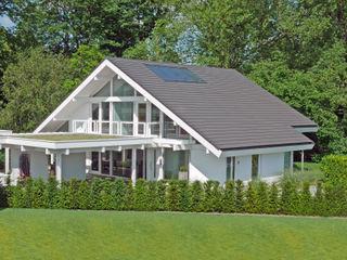 Wellnesshaus bei Bremen DAVINCI HAUS GmbH & Co. KG Fertighaus Weiß