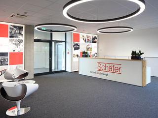 Schäfer Technik GmbH Architekturbüro zwo P Moderne Bürogebäude