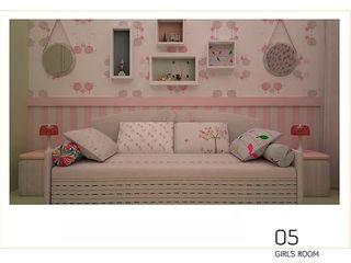 Cristina Lobo SchlafzimmerBetten und Kopfteile Pink