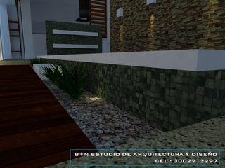 B+N Estudio de Arquitectura y Diseño Modern style balcony, porch & terrace