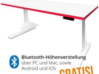 Gaming-Tisch Leeroy höhenverstellbar Büromöbel-Experte Multimedia-RaumMöbel