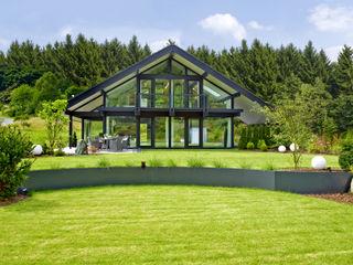 PLUSENERGIE aus dem Westerwald DAVINCI HAUS GmbH & Co. KG Moderne Häuser