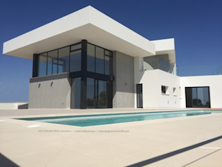 TI DYOV STUDIO Arquitectura. Concepto Passivhaus Mediterráneo. 653773806 Casas unifamilares Blanco