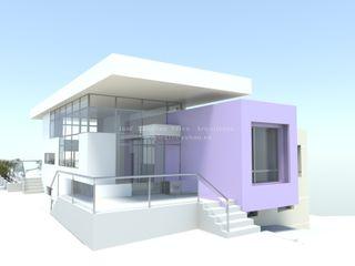 COB DYOV STUDIO Arquitectura. Concepto Passivhaus Mediterráneo. 653773806 Villas Morado/Violeta
