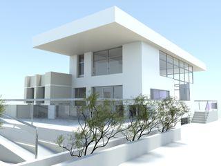 COB DYOV STUDIO Arquitectura. Concepto Passivhaus Mediterráneo. 653773806 Casas rurales Morado/Violeta