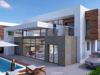 DEN14 DYOV STUDIO Arquitectura. Concepto Passivhaus Mediterráneo. 653773806 Villas Blanco