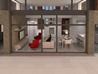 DEN14 DYOV STUDIO Arquitectura. Concepto Passivhaus Mediterráneo. 653773806 Casas unifamilares Beige