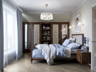 EJ Studio Colonial style bedroom Beige